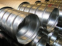 Flexible stainless steel tubes