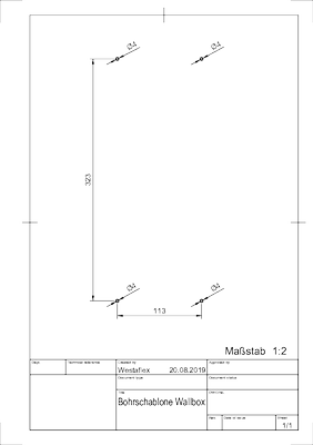 Kompey drilling template
