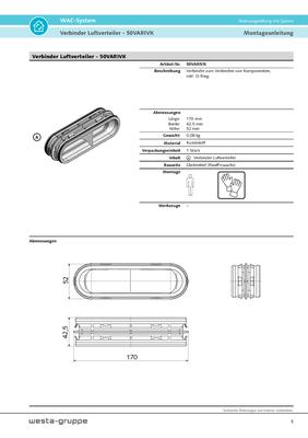 Verbinder Luftverteiler