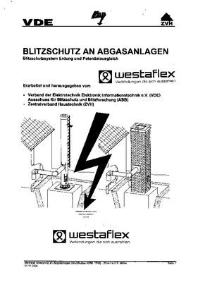 Allgemeines Merkblatt zu Blitzschutz an Abgasanlagen