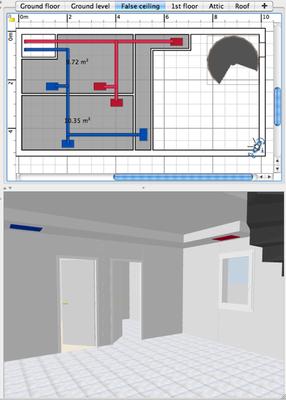 CAD Bildschirm